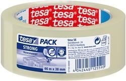 Verpakkingstape Tesa 57165 strong 38mmx66m tranparant