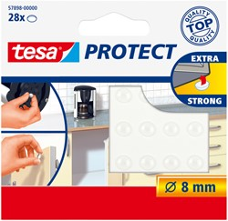 Deurstopper Tesa 57898 rond transparant
