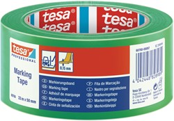 Markeringstape Tesa 60760 PVC 50mmx33m groen
