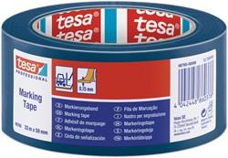 Markeringstape Tesa 60760 PVC 50mmx33m blauw