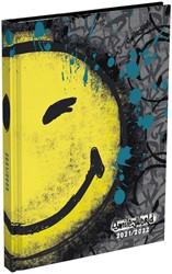 Schoolagenda  2021-2022  Smiley Worls Graffitti 150x220 mm