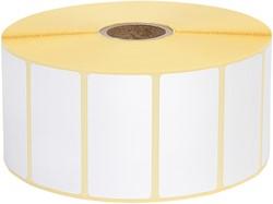 Zebra labeletiket Quantore 880199-025D 51x25mm 25mm wit permanent