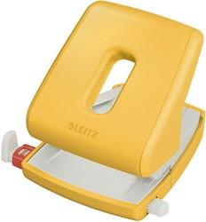 Perforator Leitz Cosy 2-gaats 30vel geel