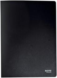 Showmap Leitz Recycle A4 20-tassen gerecycled PP zwart