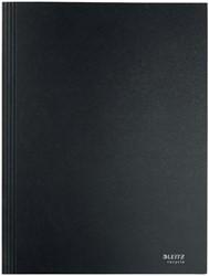 Dossiermap Leitz Recycle A4 3-kleps karton zwart