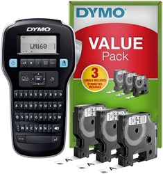 Labelprinter Dymo labelmanager LM160 azerty valuepack