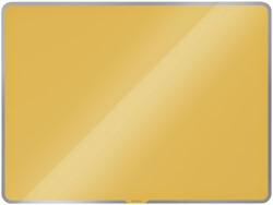 Glasbord Leitz Cosy magnetisch 800x600mm geel