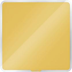 Glasbord Leitz Cosy magnetisch 450x450mm geel