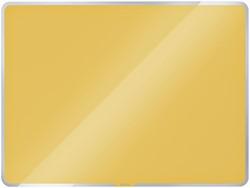 Glasbord Leitz Cosy magnetisch 600x400mm geel