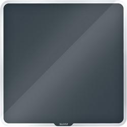 Glasbord Leitz Cosy magnetisch 450x450mm grijs