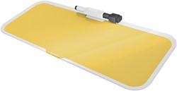 Glas Desktop Pad Leitz Cosy geel