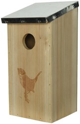 Vogelhuis hout voor specht
