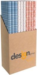 Inpakpapier Design Group Moments 200x70cm assorti