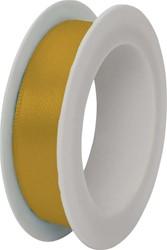 Satijnlint 1,5cmx3m goud