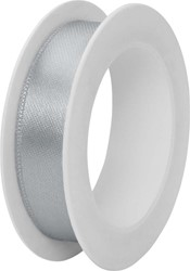 Satijnlint 1,5cmx3m zilver
