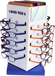 Leesbril I Need You Lucky + Regenboog + etuis assorti