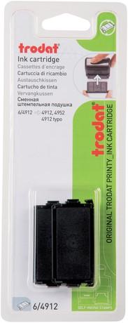 Stempelkussen Trodat 6/4912 2 stuks zwart