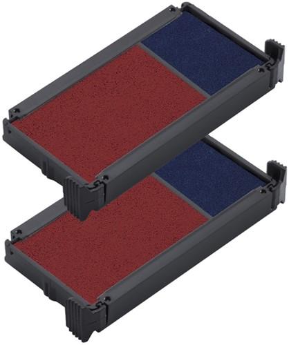 Stempelkussen Trodat 6/4912/2 2 stuks blauw rood-2