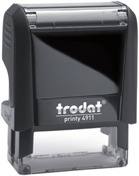Tekststempel Trodat Printy 4911 +bon zwart