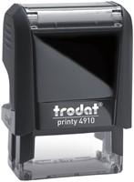 Tekststempel Trodat Printy 4910 +bon zwart