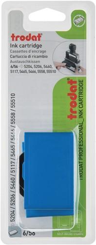Stempelkussen Trodat 6/56 2 stuks blauw