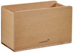 Glasbord accessoirehouder Legamaster hout