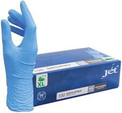 Handschoen Euro nitril XL blauw doos à 100 stuks