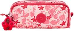 Etui Kipling Gitroy Pink Leaves