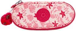 Etui Kipling Duobox Pink Leaves