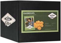 Borrelsnacks Hoppe Bites Kaasbiscuits 60 stuks