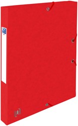 Elastobox Oxford Top File+ A4 25mm rood