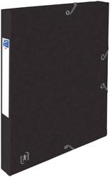 Elastobox Oxford Top File+ A4 25mm zwart