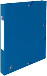 Elastobox Oxford Top File+ A4 25mm blauw