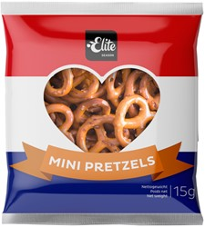 Borrelsnacks Elite Mini Pretzels NL 70 stuks