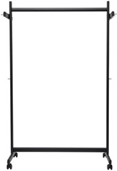 Garderoberek MAUL Samba mobiel 115cm zwart
