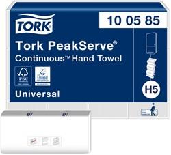 Handdoek Tork PeakServe Continuous 100585 Universal 1laags 22,5x20,1cm 410st