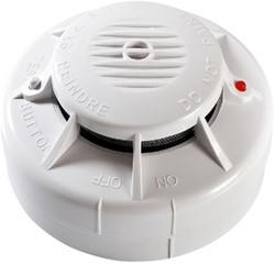Rookmelder Fito optisch draadloos koppelbaar incl. 3V batterij