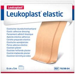 Wondpleister Leukoplast elastisch 5mx6cm