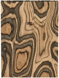 Agenda 2022 Naturel houten nerf