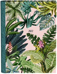 Agenda 2022 pink leaves