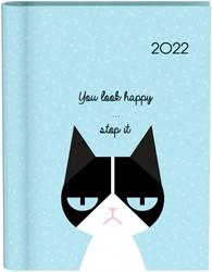 Agenda 2022 katten blauw