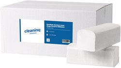 Handdoek Cleaninq I-vouw 2laags 22x32cm 3200stuks