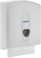 Dispenser Cleaninq Vouwhanddoek Midi Wit