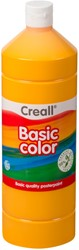 Plakkaatverf Creall basic 03 donkergeel 1000ml