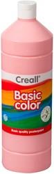 Plakkaatverf Creall basic 23 roze 1000ml