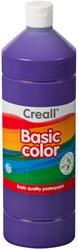Plakkaatverf Creall basic 09 violet 1000ml