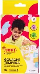Plakkaatverf Jovi 6x35ml pastel met penseel