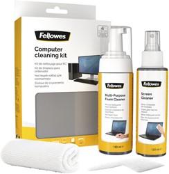 Reinigingsset Fellowes voor computer
