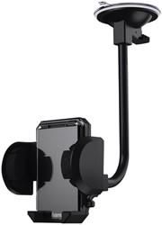 Smartphonehouder Hama universeel 4 - 11 cm zwart