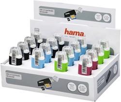 Kaartlezer Hama USB SD en Micro SD assorti